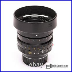 Leica Leitz 50mm F1.0 Noctilux-M E60 #11821 with Caps & Case Shooter's Dream
