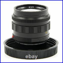 Leica Leitz 50mm F1.2 Noctilux-m Asph Black + Box 11686 #3204