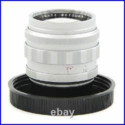 Leica Leitz 50mm F1.2 Noctilux-m Asph Silver Box Rare Make An Offer 11702
