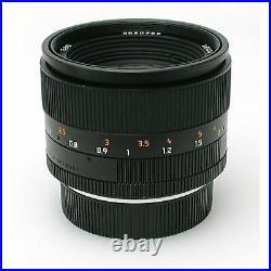 Leica Leitz 50mm F1.4 Summilux-r E60 Rom + Box 11344 #549