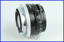 Leica Leitz Canada Summilux 35mm F/1.4 Lens for Leica M #32320 C1