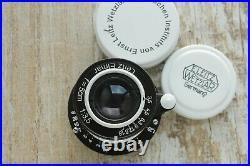 Leica Leitz Elmar 3.5/50 mm M39 Lens Zeiss Eleitz Wetzlar For Gift birthday