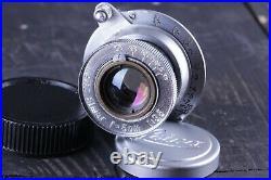 Leica Leitz Elmar 3.5/50 mm RF M39 Lens Zeiss Eleitz Wetzlar