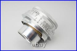 Leica Leitz Elmar 5cm f/3.5 50mm f3.5 Ernst GMBH Wetzlar Lens, For Leica M