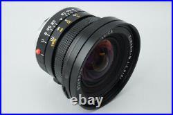 Leica Leitz Elmarit M 21mm f2.8 f/2.8 E60 Lens (11134), Black with Lens Hood 12543