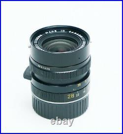 Leica Leitz Elmarit-M 28mm F/2.8 M-Mount Canada Lens