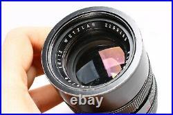 Leica Leitz Elmarit-r 90mm F/2.8 3 Cam Wetzlar Prime Telephoto Lens