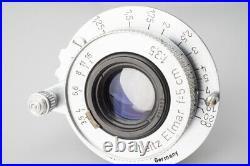 Leica Leitz IIIg 3G Rangfinder Film Camera with Elmar 5cm f3.5 Lens & 50mm Finder
