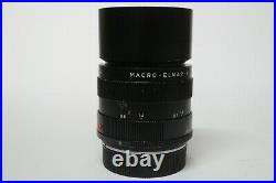 Leica / Leitz Macro Elmar-R 4,0 / 100 mm Objektiv Germany