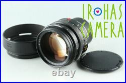 Leica Leitz Noctilux-M 50mm F/1.0 Lens for Leica M #31431 C2
