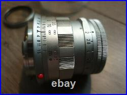 Leica Leitz Rigid Summicron SOSIC 11818 from 1965