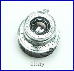 Leica Leitz Summaron 3.5cm 35mm 13.5 M39 LTM + Leica M