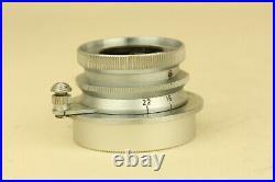 Leica Leitz Summaron 3.5cm 35mm f/3.5 L39 LTM Leica Screw Mount lens with FOOKH