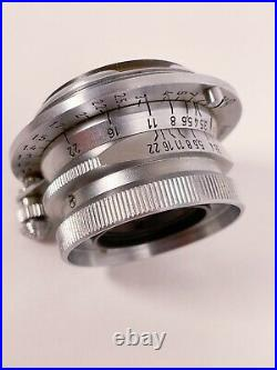 Leica Leitz Summaron 35mm f3.5 L39 Screw Mount withM mount adapter Kit