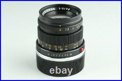Leica Leitz Summicron 50mm F/2 Lens for Leica M #23448 C1