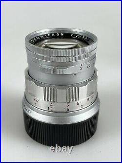 Leica Leitz Summicron M 50mm f/2 Rigid