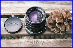 Leica Leitz Summicron-M 50mm f2 Type 3 lens