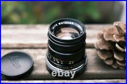 Leica Leitz Summicron-M 50mm f2 Type 3 lens VGC