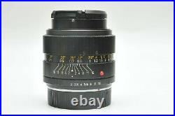 Leica Leitz Summicron-R 35mm F2.0 Lens 3-Cam for Sony Fuji Mirror-less A7