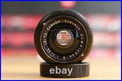 Leica Leitz Summicron R 35mm Schwarz Early Version Leica Store Nürnberg