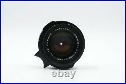 Leica Leitz Summilux 35mm f1.4 Canada SN 3081118 Year 1980