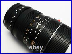 Leica Leitz Tele Elmarit M 90mm 2.8 Prime Lens Portrait