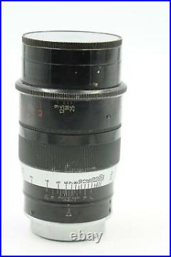 Leica Leitz Thambar 9cm f2.2 90mm Lens withcenter filter #314
