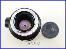 Leica Leitz Wetzlar Canada Elmarit-R 180mm F/2.8 Lens with Lens Caps and in EC