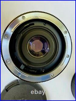 Leica Leitz Wetzlar Elmarit-R 35mm f/2.8 Lens with Caps Germany 3587473 Nice