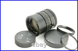 Leica Leitz Wetzlar Elmarit-R 90mm F/2.8 3-cam