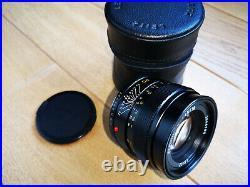 Leica Leitz Wetzlar Elmarit R 90mm f2.8 E55 lens 3 cam
