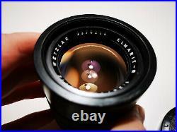 Leica Leitz Wetzlar Elmarit R 90mm f2.8 lens 2 cam