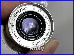 Leica Leitz Wetzlar Summaron 35mm f/3.5 Screw Mount Ltm