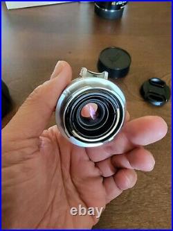 Leica Leitz Wetzlar Summaron-M 35mm F/2.8 Lens