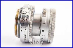 Leica Leitz Wetzlar Summicron 5cm 50mm f/2 Lens for M39 Screw Mount with Cap V11