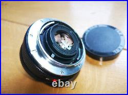 Leica Leitz Wetzlar Summicron R 28mm f2.8 3cam lens