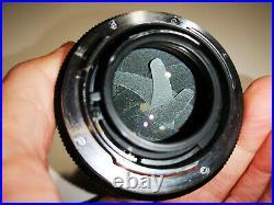 Leica Leitz Wetzlar Summilux R 50mm f1.4 lens 3cam