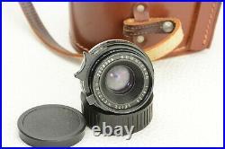 Leica M Leitz Wetzlar Summicron 12 / 35 mm Objektiv lens
