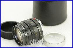 Leica M Leitz Wetzlar Summilux 11.4 / 50 mm Objektiv lens