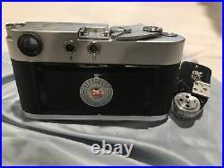 Leica M3 Camera + Leitz Summicron F=5cm 12 Lens + Leica Meter MR