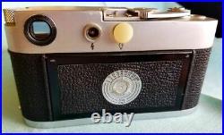 Leica M3 DBP SS Camera 1157667 with Leitz Wetzlar Elmar 12.8/50 Lens