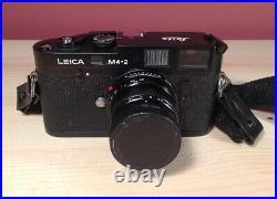 Leica M4-2 35mm Film Camera PLUS Leitz Summicron 50mm F/2 Lens Free Shipping