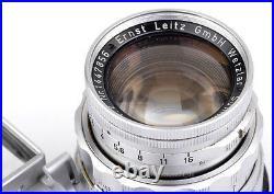 Leica Nah Summicron f=5cm 12 No. 1447856 Leitz Wetzlar Germany COMPLETE & TOP