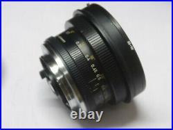 Leica R Mount Leitz Wetzlar Super Angulon 21 mm f 4 lens in very good condition
