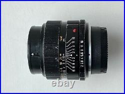 Leica R Summicron 12 35mm Leitz Made In Canada FOR NIKON F BAYONET