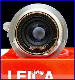 Leica Summaron Ltm 3.5cm/3.5 Leitz Wetzlar Germany Pristine