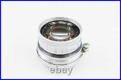 Leica Summicron 2 5cm 5 50 50mm YELLOW COATING M39 mount Leitz RARE 84984