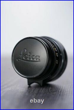 Leica Summicron M 35mm F2 Canada with Leica Lens Caps & Leitz UVa Filter
