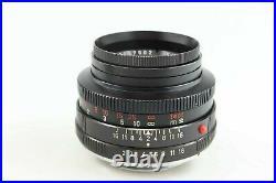 Leica Summicron R 2 50 mm mit 12564 Lens hood und 14160 Leitz 88596