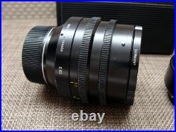 Leitz 11821 Leica Noctilux-M 11/50mm E60 Lens mit original Hood RAR
